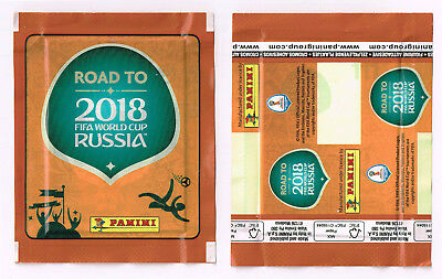 PANINI Road to World Cup 2018 Russia   sealed packet UK edition   BLANC barcode