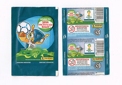 PANINI sealed packet ROAD TO WORLD CUP BRASIL 2014   edition ARGENTINA   RARE
