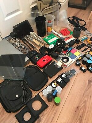 Big Job Lot Vintage Camera Photography Developing Darkroom Equipment Accessories