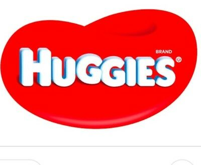 Brand new 46 Size 6 girls Packed HUGGIES Ultra Dry junio Nappies