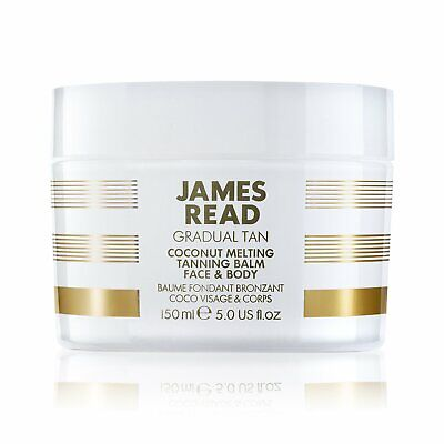 JAMES READ Coconut Melting Tanning Balm for Face & Body 150ml #5609 DAMAGED BOX