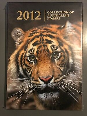 2012 Collection of Australian Stamp Year Book Album with Stamps - BRAND NEW