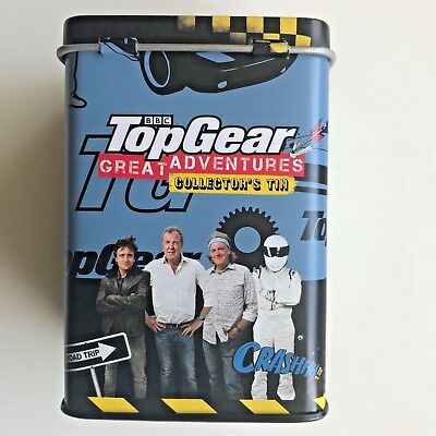 2x Top Gear Container Can Woolworths Collection