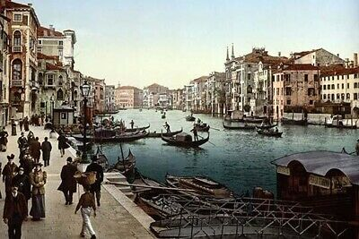 The Grand Canal  view II  Venice  Italy Poster Print by unknown (24 x 36)