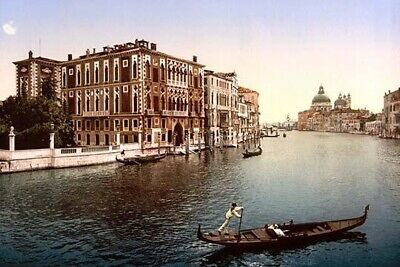 The Grand Canal  view I  Venice  Italy Poster Print by unknown (24 x 36)