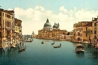 On the Grand Canal  Venice  Italy Poster Print by unknown (24 x 36)
