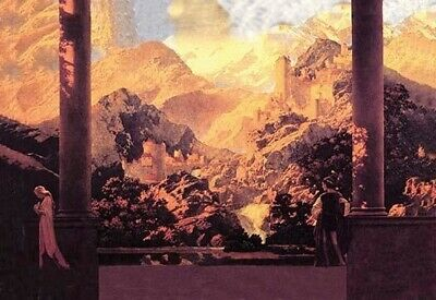 Fairy Tale Romance Poster Print by Maxfield Parrish (24 x 36)
