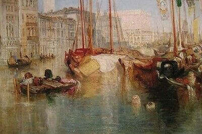 The Grand Canal in Venice Poster Print by Joseph Turner (24 x 36)