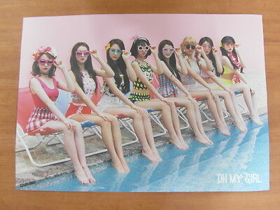 OH MY GIRL - Summer Special Album [OFFICIAL] POSTER K-POP *NEW*