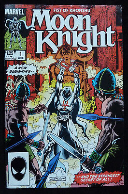 Fist of Khonshu MOON KNIGHT Vol: 2 #1 - Marvel Comics - June 1985