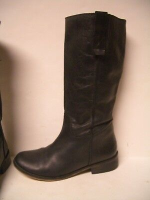 42a464d06add MIA Black Leather Knee High Riding Boots Women s Size 7.5 M