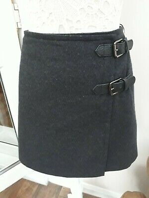 63cad07598 Ladies SIZE 12 MINT VELVET CHARCOAL GREY SKIRT excellent CONDITION above  knee