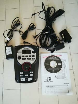 Roland Electronic Drum Sound Module TD-11 Used Good Condition JAPAN