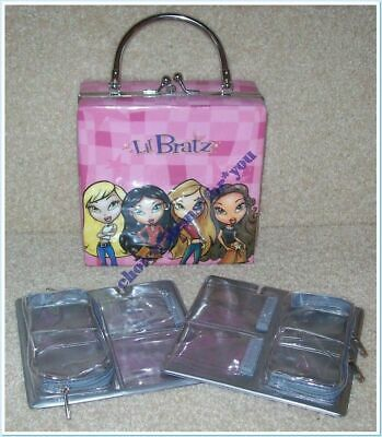 Bratz Mga Doll Lil Bratz Handbag / Carry Bag / Organizer : Holds 8 Lil Dolls