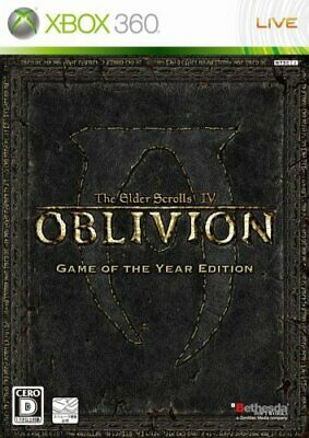 USED xbox 360 ​​The Elder Scrolls IV: Oblivion Game of the Year Japan Edition JP
