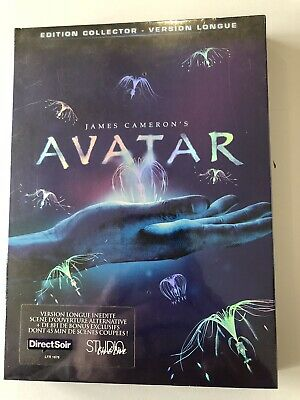 "Digipack Collector Edition 3 DVD "" Avatar "" France Version NEW"
