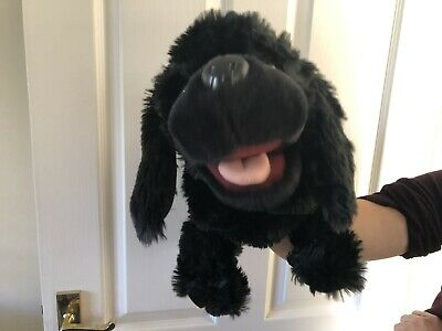 Large Dog Spaniel Hand Puppet By The Puppet Company