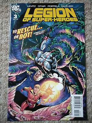 LEGION OF SUPER-HEROES # 3 (2010) DC COMICS (NM Condition)