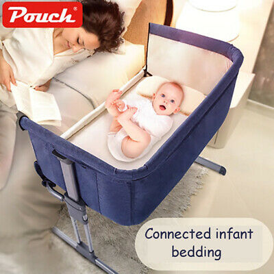 Pouch H05 Baby Portable Bed connected with parents' normal big bed Infant Travel