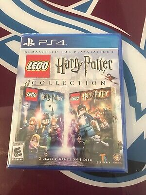 Lego Harry Potter Collection....ps4...***sealed***brand New***!!!!!!!!