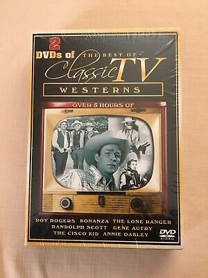 Westerns The Best Of Classic TV Set Of 2 DVDs