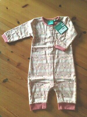 Little Green Radicals Lollipop design Babygrow - Size 9-12 months