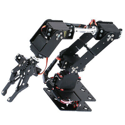 DIY 6-DOF Robot Mechanical Arm Kits for Learning Robotics Assembly Kits