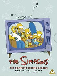 The Simpsons - Series 2 - Complete (DVD, 2002, 4-Disc Set) New sealed