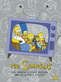 The Simpsons - Series 1 - Complete (DVD, 2001, 3-Disc Set) New Sealed