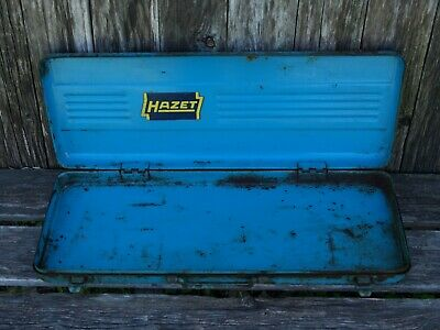 Vintage Hazet Empty Toolbox Made in Germany