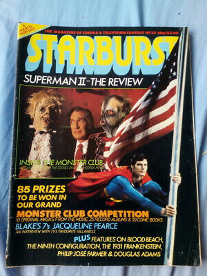 Starburst issue 32 - Superman II, The Monster Club, Blakes 7, Hitch Hiker