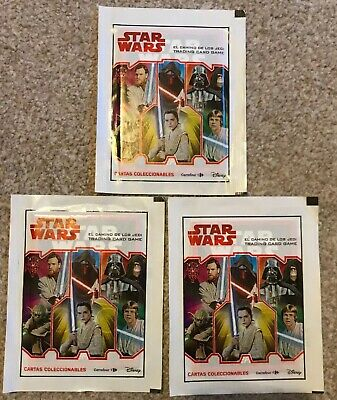 Star Wars Trading Cards pack - Spanish Carrefour Cartas Coleccionables