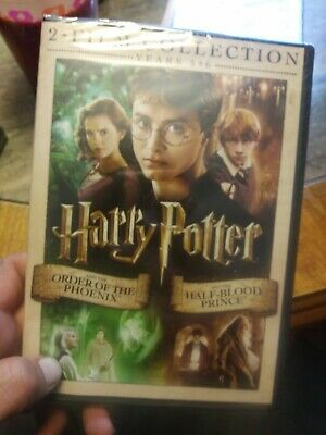 DVD 2 Film Collection Harry Potter Year 5 & 6 Order Of Phoenix Half Blood Prince