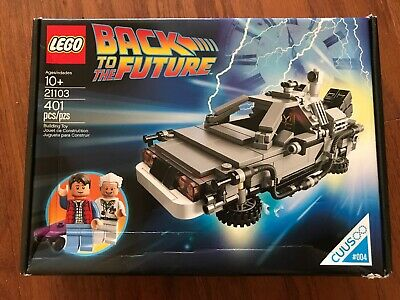 LEGO CUUSOO The DeLorean time machine (21103)