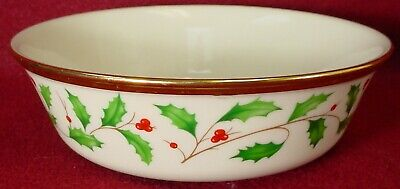 """LENOX china HOLIDAY Dimension pattern All Purpose Cereal Dessert Bowl - 6-1/4"""""""