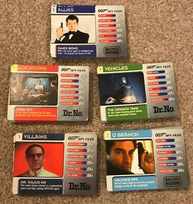 James Bond Trading Cards Job Lot - Near Complete Collection 135/150