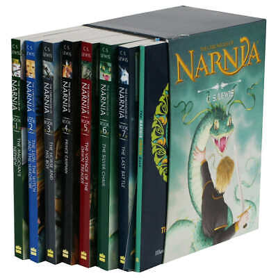 The Chronicles of Narnia by C.S. Lewis: 8 Book Box Set - FREE SHIPPING!