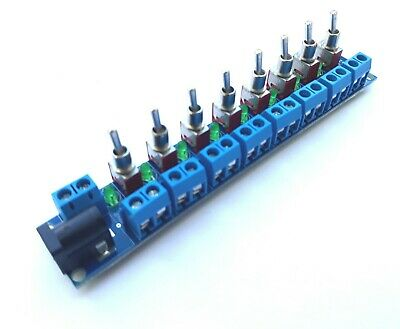 RKpdu2 DC DCC Power Distribution Board for Bachmann, Hornby Model Railway