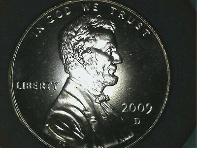 2009 d lincoln capitol years bicentennial penny uncirculated one cent coin