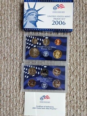 2006 S US Mint Proof Set - 10 coin set - in Original Government Packaging