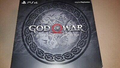 God Of War Playstation 4 Limited Collectors Edition
