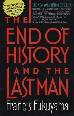 The End of History and the Last Man, Fukuyama, Francis,0380720027, Book, Good