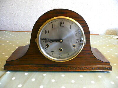 WORKING, FOREIGN  WESTMINSTER CHIMING MANTEL or MANTLE CLOCK, EXTREMELY TIDY.