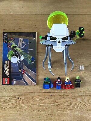 Lego 76040 Superman Brainiac Attack Dc Comics Super Heroes Retired
