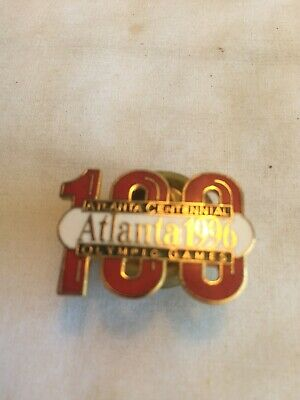 Olympics Two Lot 100th Atlanta Usa Olympic Games Authentic Pins Collection
