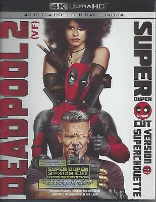 Deadpool 2 Super Duper Cut Version (4K Ultra Hd/bluray)(4 Disc Set)(Used)Cell