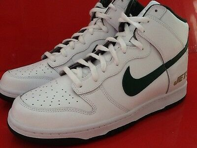 official photos ec1e6 18fec Nike Dunk High ID NFL NY Jets 535078 901 Size 12