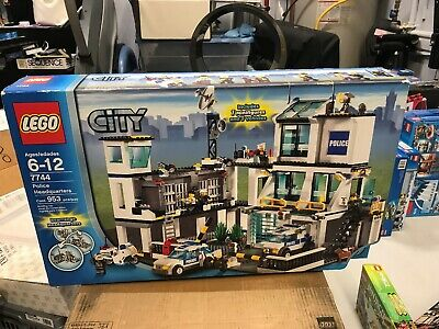 Brand New Lego City Police Headquarters 7744 30000 Picclick