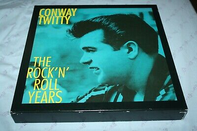 Conway Twitty-The Rock'n'roll Years- 8 Cds Box Set+Book-Bear Family