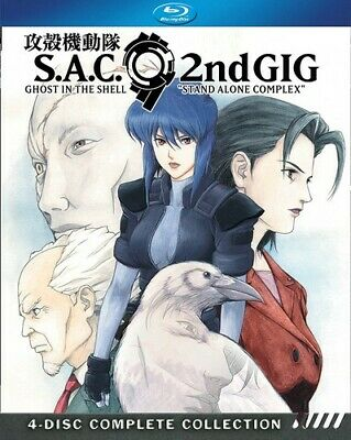 Ghost In The Shell: Stand Alone Complex Season 2 013132 (Blu-ray Used Very Good)